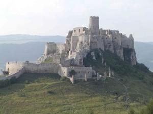 Развалины Чахтицкого замка